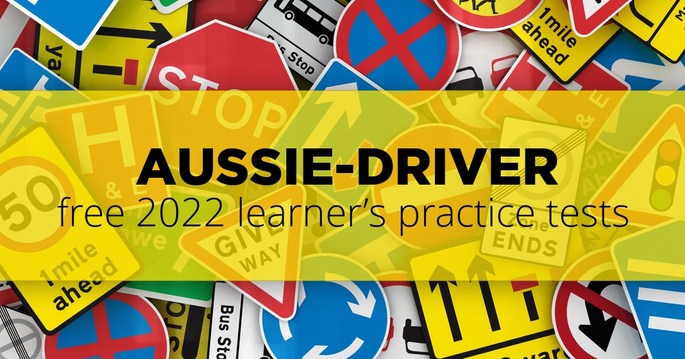 Free VicRoads Learners Test Practice | 2019 Driving Test Questions